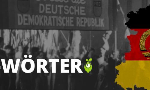 Wörter in der DDR